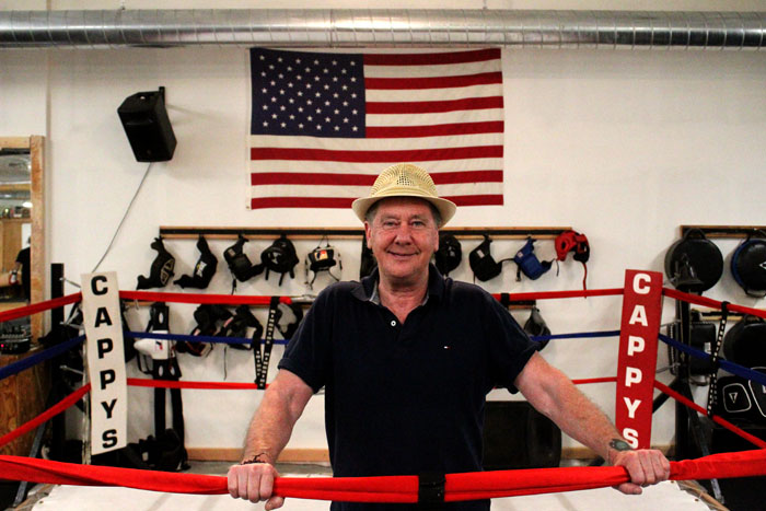 Photos by Brandon Macz: Cappy's Boxing Gym owner Cap Kotz secured his new space in The Valley Building before it was built. The gym opened in its new home on June 18.