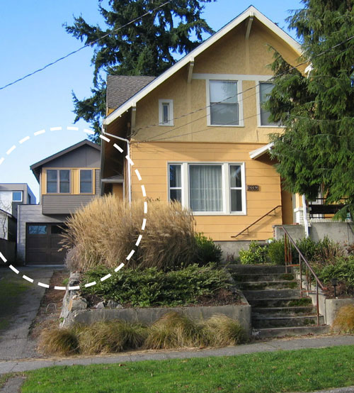 Photo courtesy of City of Seattle: The Seattle City Council's Sustainability and Transportation Committee is reviewing legislation to ease restrictions on building accessory dwelling units, such as backyard cottages, in single-family neighborhoods.